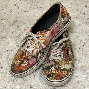 Vans Watercolor Floral Shoes